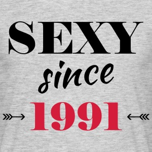 Sexy since 1991 Tee shirts - T-shirt Homme