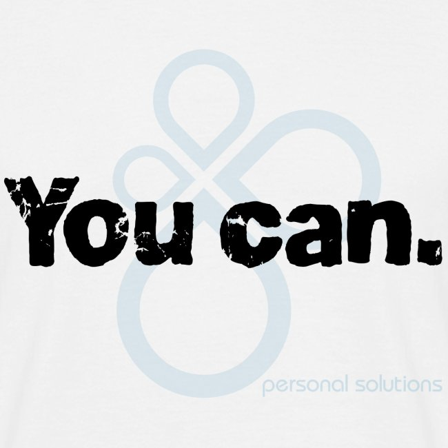 You can. Men's tee