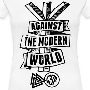 Against The Modern World T-Shirts - Frauen Premium T-Shirt