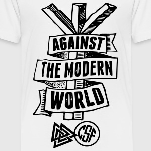 Against The Modern World T-Shirts - Teenager Premium T-Shirt