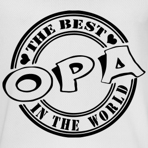 Opa The best in the world Sportbekleidung - Männer Basketball-Trikot