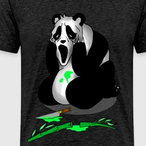 Serial killer panda - T-shirt Premium Homme