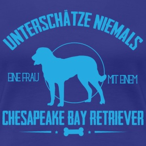 UN ChesapeakeBayRetriever T-Shirts - Frauen Premium T-Shirt