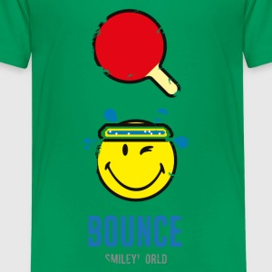 SmileyWorld BOUNCE - Teenage Premium T-Shirt