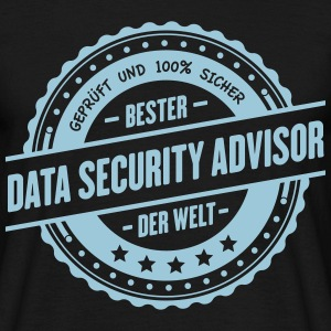 Beste Data-Security Advisor der Welt - Männer T-Shirt