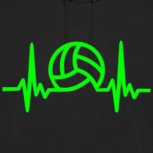 VolleyballFREAK Herzrasen - Unisex Hoodie