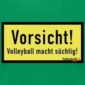 VolleyballFREAK Volleyball macht sexy - Frauen Premium T-Shirt