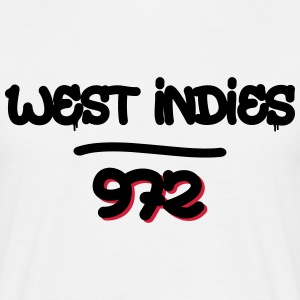 west indies 4 Tee shirts - T-shirt Homme