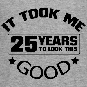 25 YEARS - AND SO BLATANT (B-DAY SHIRT) Long Sleeve Shirts - Teenagers' Premium Longsleeve Shirt
