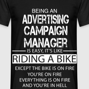 Advertising Campaign Manager T-Shirts - Men's T-Shirt