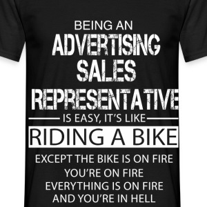 Advertising Sales Representative T-Shirts - Men's T-Shirt