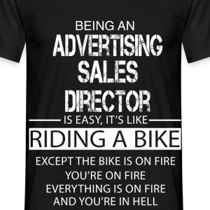 Advertising Sales Director T-Shirts - Men's T-Shirt