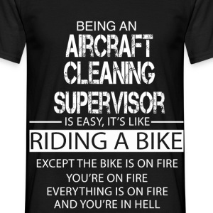 Aircraft Cleaning Supervisor T-Shirts - Men's T-Shirt