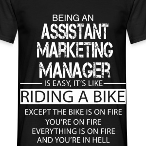 Assistant Marketing Manager T-Shirts - Men's T-Shirt