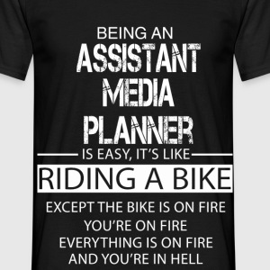 Assistant Media Planner T-Shirts - Men's T-Shirt