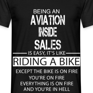 Aviation Inside Sales T-Shirts - Men's T-Shirt