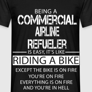 Commercial Airline Refueler T-Shirts - Men's T-Shirt