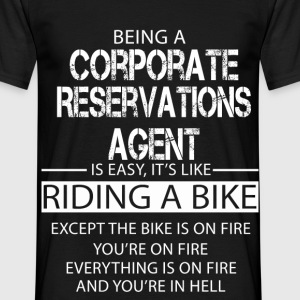 Corporate Reservations Agent T-Shirts - Men's T-Shirt