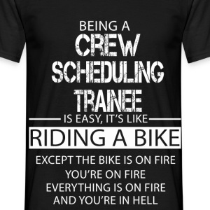 Crew Scheduling Trainee T-Shirts - Men's T-Shirt