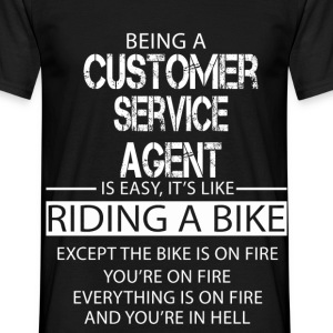 Customer Service Agent T-Shirts - Men's T-Shirt