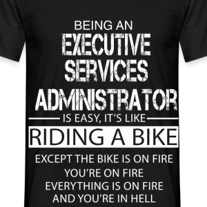 Executive Services Administrator T-Shirts - Men's T-Shirt