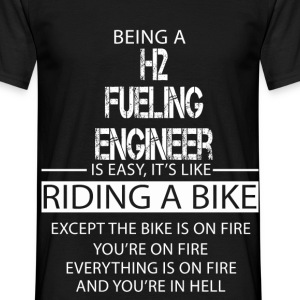 H2 Fueling Engineer T-Shirts - Men's T-Shirt
