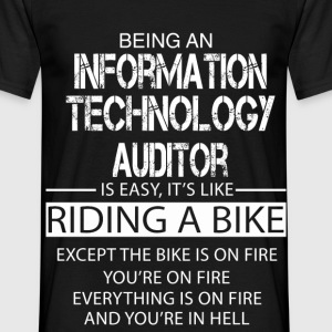 Information Technology Auditor T-Shirts - Men's T-Shirt
