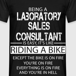 Laboratory Sales Consultant T-Shirts - Men's T-Shirt