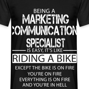 Marketing Communications Specialist T-Shirts - Men's T-Shirt