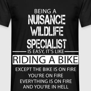 Nuisance Wildlife Specialist T-Shirts - Men's T-Shirt