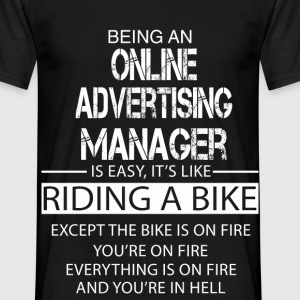 Online Advertising Manager T-Shirts - Men's T-Shirt