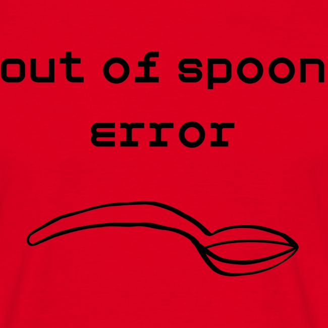Out of Spoons