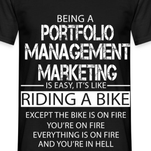 Portfolio Management Marketing T-Shirts - Men's T-Shirt