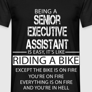 Senior Executive Assistant T-Shirts - Men's T-Shirt