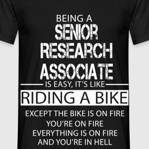 Senior Research Associate T-Shirts - Men's T-Shirt