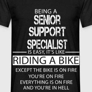 Senior Support Specialist T-Shirts - Men's T-Shirt