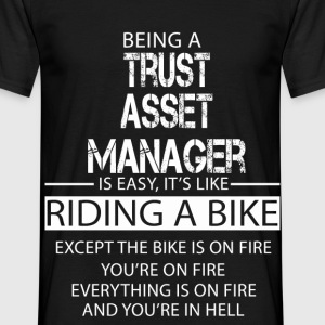 Trust Asset Manager T-Shirts - Men's T-Shirt