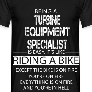 Turbine Equipment Specialist T-Shirts - Men's T-Shirt
