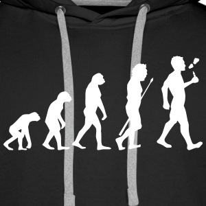 Vape Design Evolution Hoodies & Sweatshirts - Men's Premium Hoodie