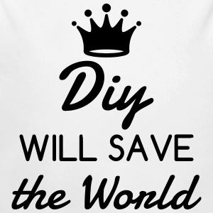 DIY - Do it yourself - Bricoalge - Handyman - Dad Baby Bodysuits - Longlseeve Baby Bodysuit