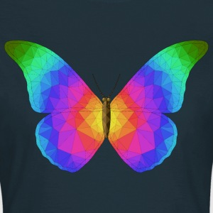 Trippy Mosaic Butterfly - Women's T-Shirt