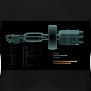 Generation Ship Scan - Women's Premium T-Shirt