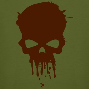 bloody skull army men - Männer Bio-T-Shirt