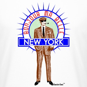 Bonjour ma belle New York by Francisco Evans ™ - Männer Urban Longshirt