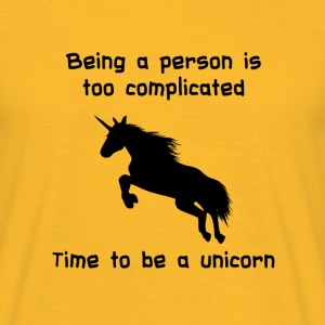 Unicorn time T-Shirts - Männer T-Shirt