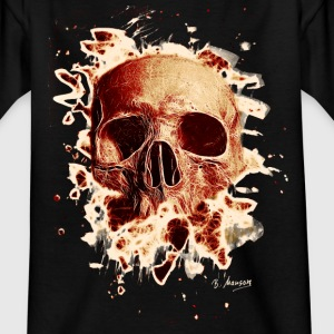 Rotten Skull – reddish - Teenager T-Shirt