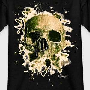 Rotten Skull – greenish - Teenager T-Shirt