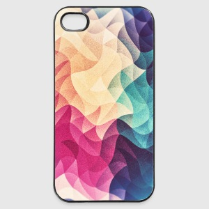 Abstract low poly color pattern design (spectrum) Mobil- & tablet-covers - iPhone 4/4s Hard Case