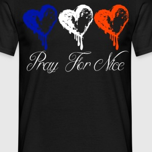 Pray For Nice - Men's T-Shirt