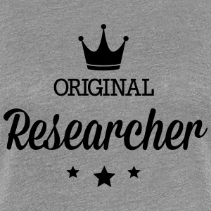 Original three star deluxe researchers T-Shirts - Women's Premium T-Shirt